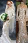 kebaya pengantin muslim 1