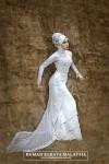 kebaya pengantin muslim 10