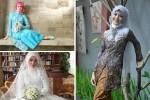 kebaya pengantin muslim 11