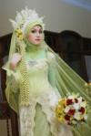 kebaya pengantin muslim 8