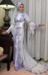 kebaya pengantin muslim 9