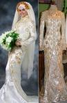 Kebaya Muslim pernikahan